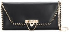 Valentino - Clutch - women - Leather/Metal (Other) - One Size - BLACK