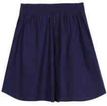 Shorts a vita alta con cintura