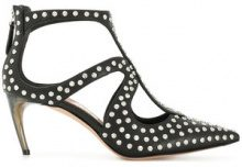 Alexander McQueen - studded pointed toe pumps - women - Leather - 36, 36.5, 37, 37.5, 38, 38.5, 39, 40, 41 - BLACK