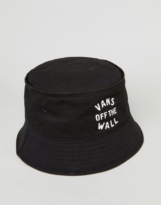 Cappello da pescatore nero con logo  5d4e60a018af