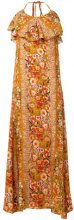 Black Coral - Abito 'Olivia' - women - Viscose - 40, 42, 44 - Giallo & arancio