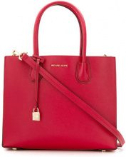 Michael Michael Kors - large Mercer tote - women - Leather - One Size - RED