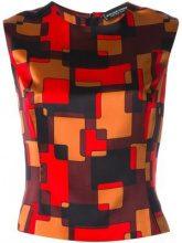 Jean Louis Scherrer Vintage - printed tank - women - Silk - 42 - Multicolore