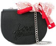 Love Moschino - bandana-detail crossbody bag - women - PVC - OS - BLACK