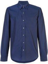 Odin - classic Oxford shirt - men - Cotton/Polyurethane - S, M, L - BLUE