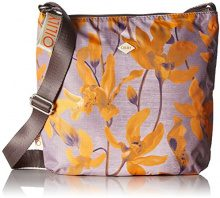 Oilily Groovy Shoulderbag Lvz - Borse a tracolla Donna, Orange, 1x28x29 cm (B x H T)