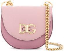 Dolce & Gabbana - Borsa a tracolla 'Media Wifi' - women - Calf Leather - One Size - PINK & PURPLE