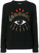 Kenzo - Felpa 'Eye' - women - Polyester/Triacetate - S, M, XS, L - BLACK