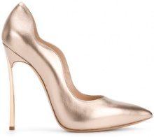 Casadei - Techno Blade pumps - women - Leather - 35, 36, 38, 38.5, 39.5, 40 - METALLIC