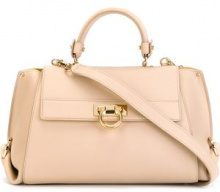 Salvatore Ferragamo - Sofia tote - women - Calf Leather - OS - NUDE & NEUTRALS