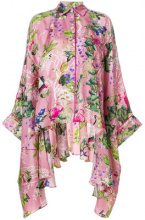 F.R.S For Restless Sleepers - Blusa a fiori - women - Silk - S - Rosa & viola