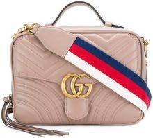 Gucci - Borsa a spalla 'GG Marmont' - women - Leather - OS - NUDE & NEUTRALS