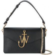 JW Anderson - Logo Shoulder Bag - women - Leather - One Size - BLACK