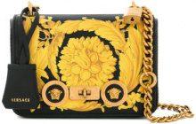 Versace - baroque shoulder bag - women - Leather - One Size - BLACK