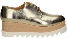 Scarpe Grace Shoes  9392 Francesina Donna Platino