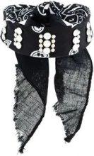 Dannijo - Choker 'Rocka' - women - Cotton/metal/glass - OS - BLACK