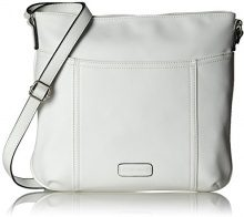 Gerry Weber Open Mind Shoulderbag Lvz, Borse a tracolla Donna, Bianco (White), 1x30x32 cm (B x H x T)