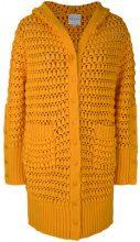 Mira Mikati - long knit cardigan - women - Cotton - 36, 38, 40 - YELLOW & ORANGE