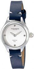 Akribos XXIV da donna al quarzo con Display analogico-giapponese, colore: blu