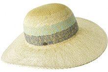 Seeberger Serie Lotti, Cappelli da Sole Donna, Mehrfarbig (Hellblau/Jeans 6762), Taglia unica