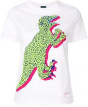 Ps By Paul Smith - T-shirt con dinosauro - women - Cotton - S, L - WHITE