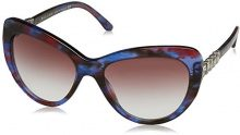 Bvlgari 8143, Occhiali da Sole Unisex-Adulto, Multicolore (Bluee/Red Fantasy), 55