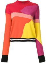 Ps By Paul Smith - Maglione color-block - women - Merino/Cotton/Polyamide - S, L, XL - MULTICOLOUR