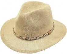 Barts Gamble Hat Cappello Panama, Donna, Beige (Grano), Taglia unica