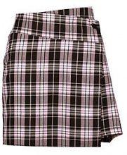 Rebecca Wrap Asymetric Woven Mini Skirt