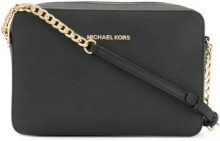 Michael Michael Kors - Borsa a tracolla 'Jet Set large' - women - Leather - One Size - BLACK