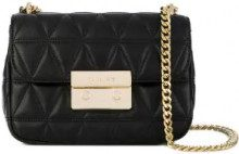 Michael Michael Kors - Borsa a spalla 'Sloan' - women - Calf Leather - One Size - BLACK