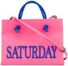 Alberta Ferretti - Borsa 'Saturday Small' - women - Leather - One Size - PINK & PURPLE