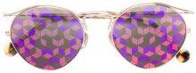 Dior Eyewear - Occhiali da sole 'Origins 1' - women - Metal (Other)/Acetate - OS - METALLIC
