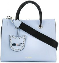 - Karl Lagerfeld - Borsa Shopper 'Karry all' - women - pelle di vitello - Taglia Unica - di colore blu
