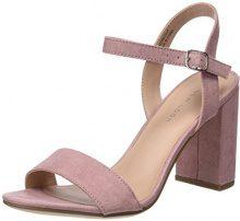 New Look Sims, Scarpe con Cinturino Alla Caviglia Donna, Pink (Light Pink 70), 41 EU