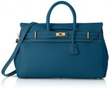 Mac Douglas Pyla Romy S - Borse a mano Donna, Blu (Bleu Lagon), 17.5x26x40.5 cm (W x H L)