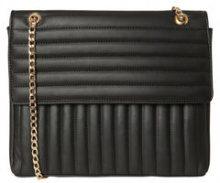 PIECES Structured Crossbody Bag Women Black