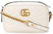 Gucci - Borsa a tracolla 'GG Marmont' - women - Leather - OS - NUDE & NEUTRALS