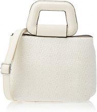 SwankySwans Isla Handbag - Borse a tracolla Donna, Bianco (White), 12x27x24 cm (W x H x L)
