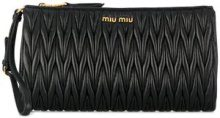 - Miu Miu - Pochette matelassé - women - Calf Leather - Taglia Unica - Nero
