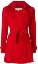 Michael Michael Kors - Trench con motivo a pois - women - Polyester - S, M, L - RED