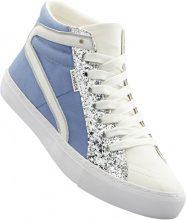 Sneaker alta (Blu) - RAINBOW