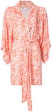 Onia - Gina kimono - women - Viscose - OS - PINK & PURPLE