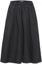 SELECTED Dotted - Midi Skirt Women Black