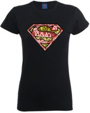 DC Comics Maglietta, Manica corta, Donna, nero (Black), 2XL