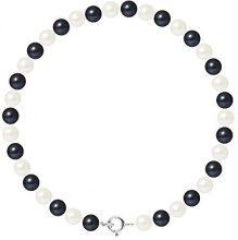 Pearls & Colors Bracciale intrecciato Donna argento 925_argento perla rotonda - AM17-BRA-AG-R56-AR-WHBL