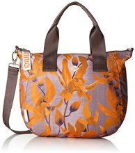Oilily Groovy Handbag Mhz - Borse a secchiello Donna, Orange, 15x25x40 cm (B x H T)