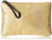 Bensimon Zipped Pocket - Pochette da giorno Donna, Or, 0.5x15.5x22 cm (W x H L)