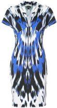 Just Cavalli - printed fitted dress - women - Polyamide/Spandex/Elastane - 40, 42, 44, 46 - BLUE