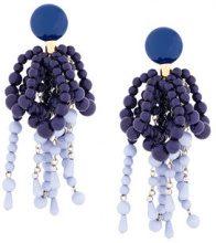 Marni - Orecchini con perline - women - Resin - OS - BLUE